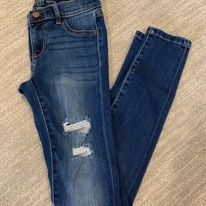 Soho Distressed Jeggings (Legging Jeans)
